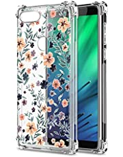Oihxse Transparente Silicona Funda Compatible con Xiaomi Redmi Note 7/Note 7 Pro Carcasa Ultra-Delgado Suave TPU Gel Airbag Esquinas Anti Rasguños Lindo Protector Case Bumper(A13)
