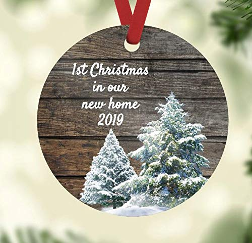 Christmas Ornament - First Christmas in Our New Home 2019