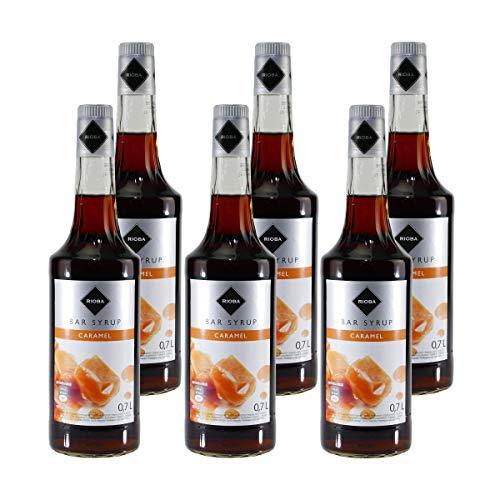 Rioba Caramel Bar-Syrup (6 x 0,7L)