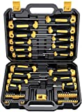 Magnetic Screwdriver Set 57 PCS Includes Slotted/Phillips/Torx Mini Precision Screwdriver, CREMAX Non-Slip...
