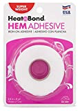 HeatnBond Hem Iron-On Adhesive, Super Weight, 3/4 Inch x 8 Yards