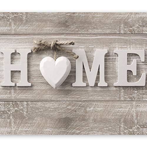 murando Fototapete Home 400x280 cm Vlies Tapeten Wandtapete XXL Moderne Wanddeko Design Wand Dekoration Wohnzimmer Schlafzimmer Büro Flur Holz Optik m-B-0034-a-a