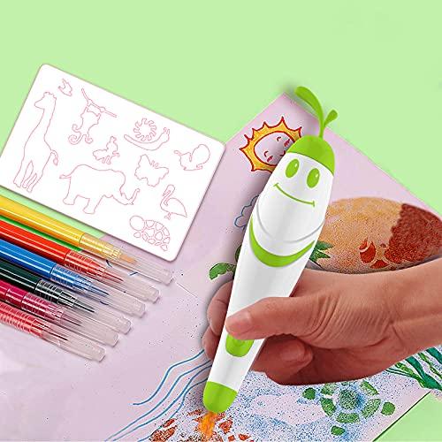 NiCuZnGa Electric Coloring Markers for Kids Fun...