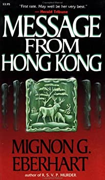 Message from Hong Kong 0881845051 Book Cover