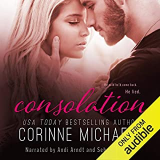 Consolation audiobook cover art