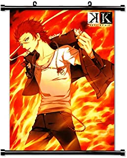 K Project Anime Fabric Wall Scroll Poster (16