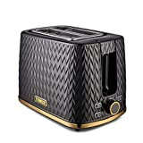 Tower Empire 4-Slice Toaster with Defrost/Stop, Removable Crumb Tray