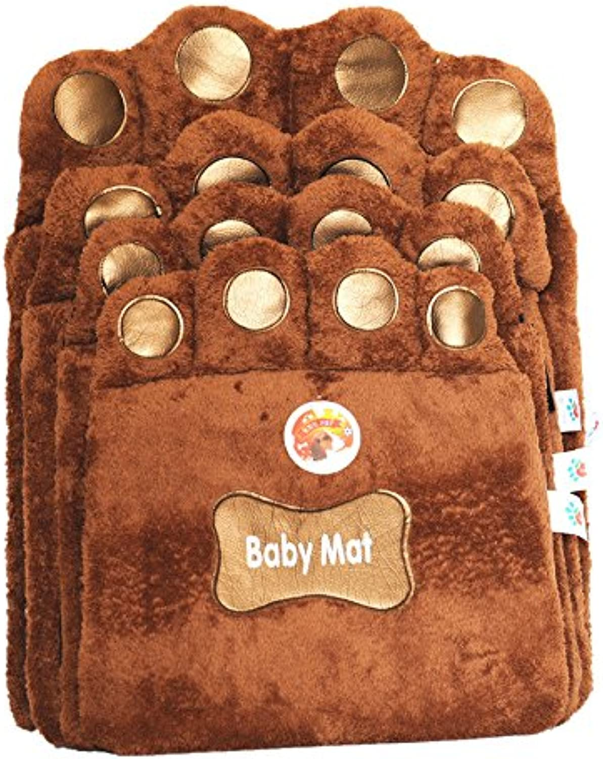 Brown Dog Cat Puppy Warm Crate Cage Kennel Bed House Soft Mat Size   S