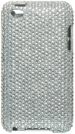 Luxmo Crystal Case Full Diamond Silver FD fits 4 National uniform free shipping Touch Max 55% OFF iPod