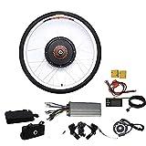 TFCFL Kit de conversión para bicicleta eléctrica de 26 pulgadas, con pantalla LCD de 48 V, 1000 W