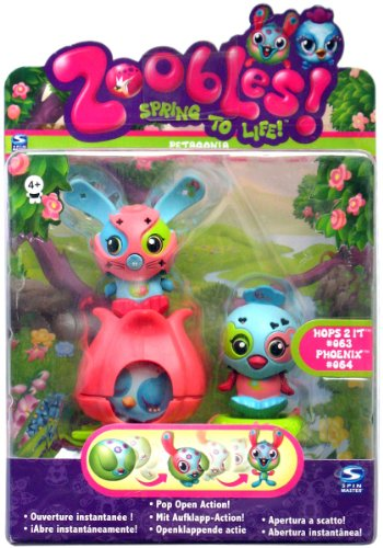 Zoobles Spring to Life Twobles Pack Blister VPE 1