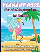 Flamant Rose Livre de Coloriage Pour les Enfants: Un oiseau unique à colorier pour les tout-petits enfants 2-4, 4-8
