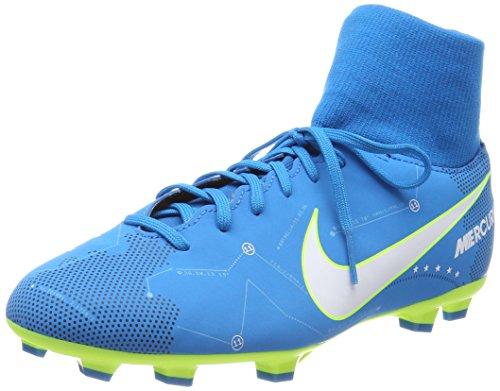 Nike Unisex-Kinder Mercurial Victory VI DF Neymar FG Fußballschuhe, Blau (Blue Orbit/White Blue Orbit-Armory Navy), 36.5 EU