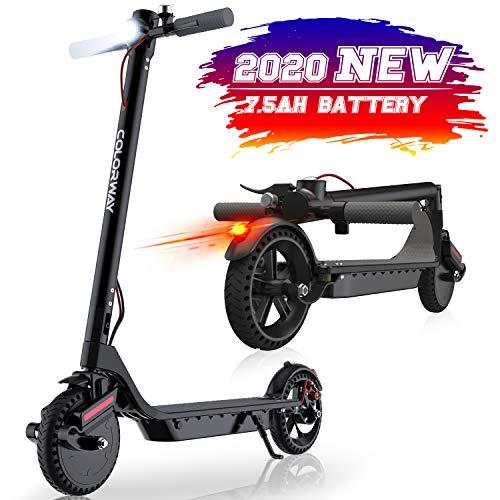 MARKBOARD Scooter Elettrico Smart 8.5 '' E-Scooter ad Alta Potenza, Leggero...