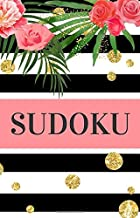 Sudoku: Small Travel Size Sudoku Puzzle Book | Pretty Pocket-Size Sudoku Puzzle Book for Adults | Perfect for Purse, Briefcase or Bag