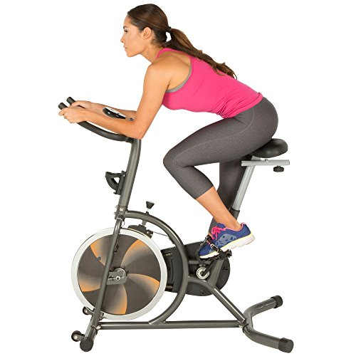 Fitness Reality S275 Exercise Bike/Indoor Training Cycle with 4 Way Adjustable Seat