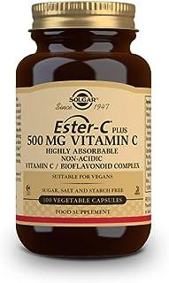 Solgar Ester-C Plus Vitamin C - 500 mg - 100 Vegetable Capsules