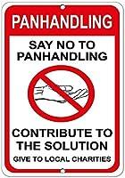 パンハンドリングは解決策に貢献する