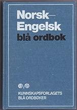 Norsk-Engelsk Bla Ordbok / Norwegian-English Dictionary