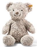 Steiff 113437 Soft Cuddly Friends Honey - Oso de Peluche (38 cm), Color Gris