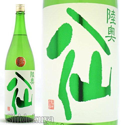 陸奥八仙 特別純米酒 ひやおろし 緑ラベル 1800ml【通常便】