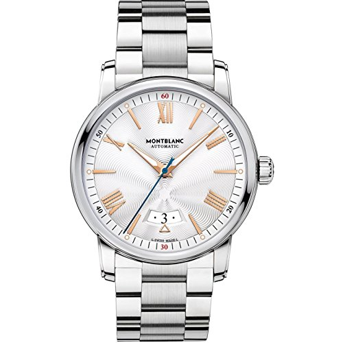 MONTBLANC 4810 Herren-Armbanduhr 42MM Armband Edelstahl AUTOMATIK 114852