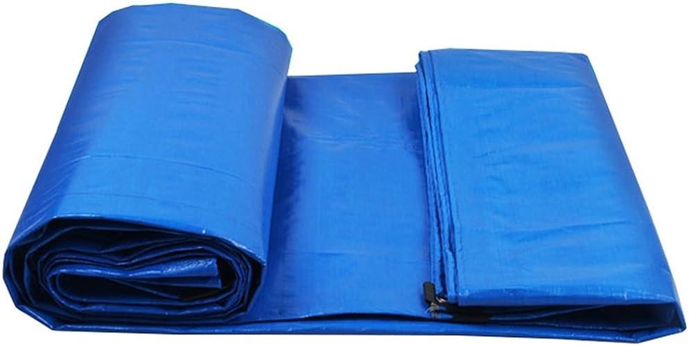 Baches La feuille au sol de bache de polyéthylène bleue couvre la tente de tente pour camper et extérieur, options multi-taille Couverture de piscine (taille   6MX6M)