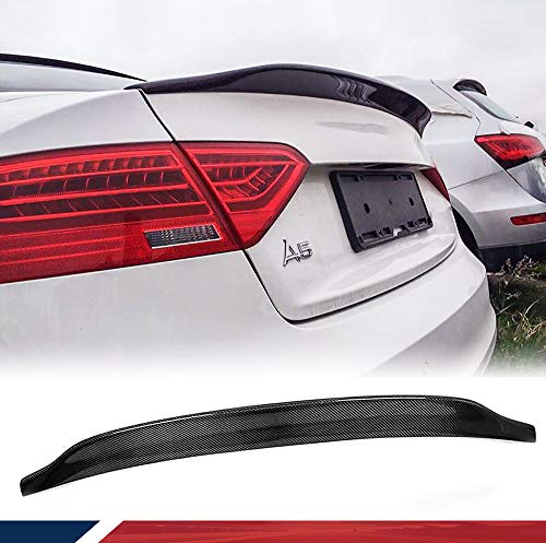 Heckspoiler für A5 Coupe 2 türig 2008-2015 Carbon Faser Material