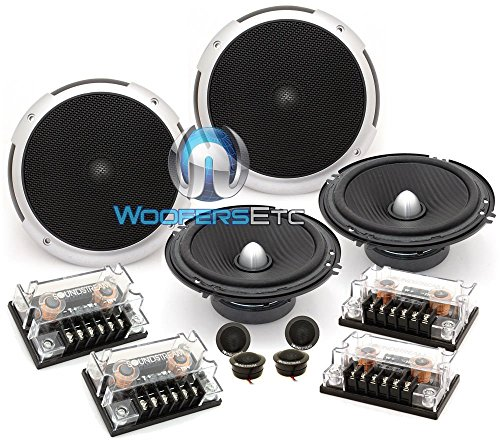"""(2) PF.6-2 Sets of Soundstream 6.5"""" 100W RMS 2-Way Component Speakers"""