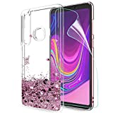 LeYi Galaxy A9 2018 Case with Screen Protector, Girl Women
