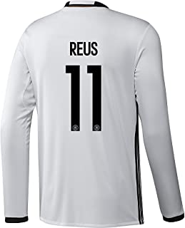 Adidas Reus #11 Germany Home Soccer Jersey Euro 2016 Long Sleeve