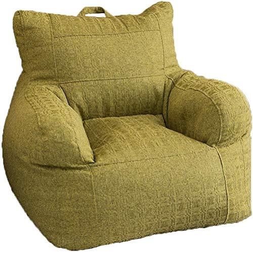 LHY- Sofá Lazy Tatami para dormitorio individual, simple reclinable, creativo, puf, sofá, sillón, suave