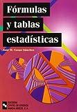 Fórmulas y Tablas Estadísticas (Manuales)