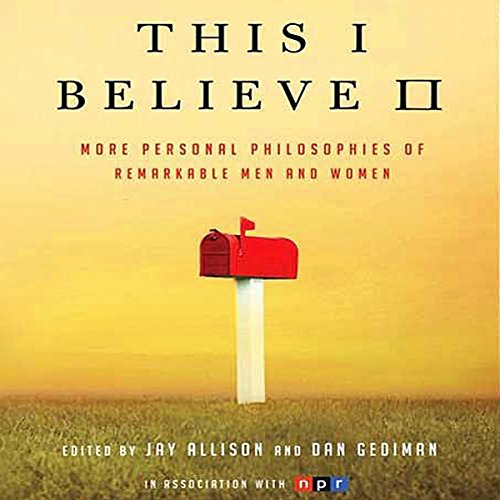 This I Believe II audiobook cover art