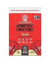 Lakanto Monkfruit Sweetener Golden 30 Packets