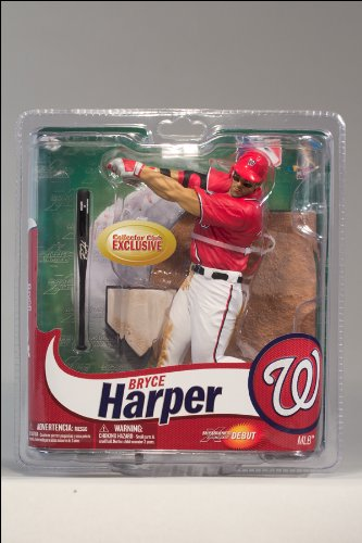 McFarlane Toys MLB Figure Collectors Club limited edition red / Bryce Harper / Washington Nationals