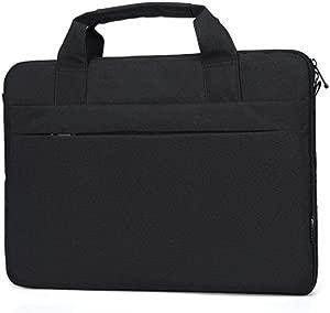 aiyinhuofen Laptop Shoulder Bag Notebook Messenger Handbag Case 13-15 6 inch BK-L