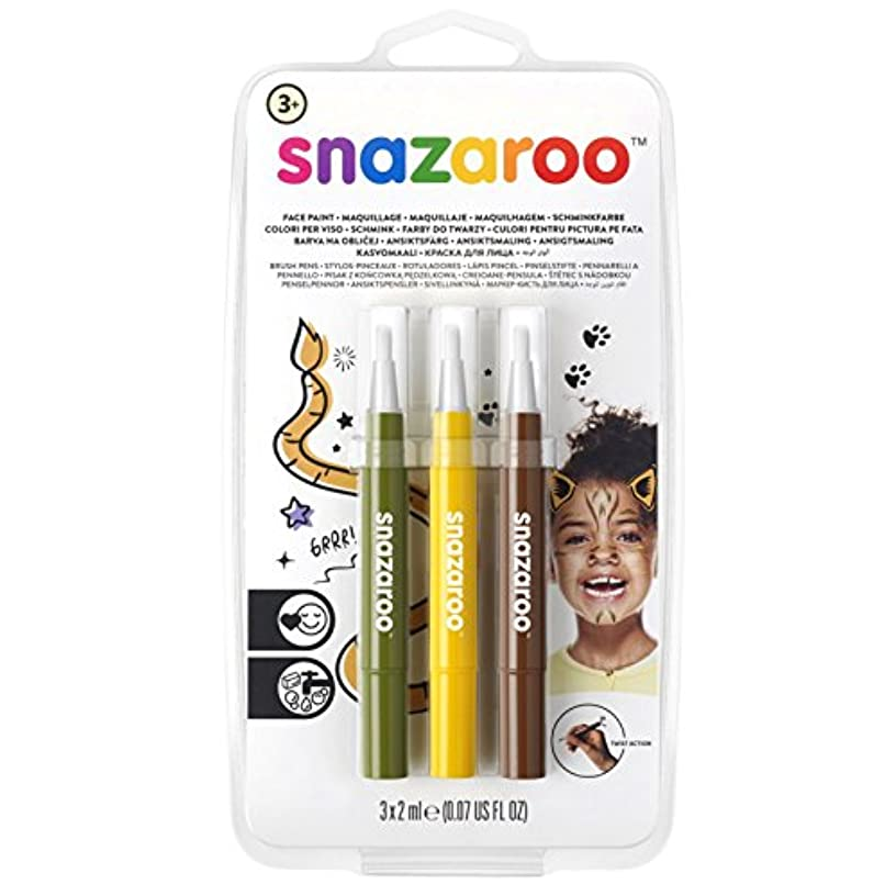 Snazaroo Face Paint Brush Pen, Jungle