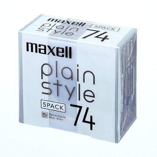 マクセル plain style 74分 PLMD74.5P