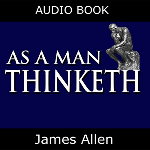 As a Man Thinketh audiobook cover art