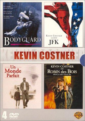 Coffret Kevin Costner 4 DVD : Bodyguard / JFK / Un monde parfait / Robin des Bois, prince des voleurs