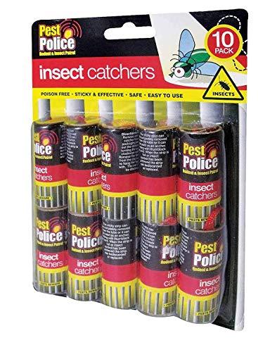 Lot de 10 capteurs-collante anti-insectes sans Poison aucun Insecticides