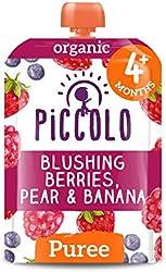 Piccolo Blushing Berries Pear and Banana, 100g