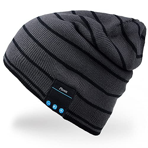 Mydeal Wireless Bluetooth Beanie Hat Music Knitted Cap with Headphone Headset Earphone Stereo...