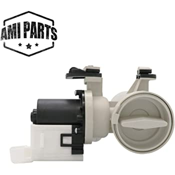 Compatible with WPW10730972 850024 Water Pump Assembly UpStart Components Brand W10730972 Washer Drain Pump Motor Assembly Replacement for Maytag MHWE300VF00 Washing Machine