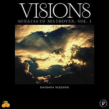 Visions: Sonatas of Beethoven, Vol. 1