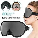Upgraded Sleep Mask,OriHea Comfortable & Super Soft Sleeping Mask for Women Men Kids,100% Blocking...