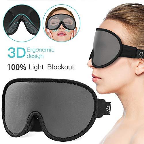 Eye Sommeil conception brevetée 100/% Blackout Cover Sommeil Masque pour femme 3D...