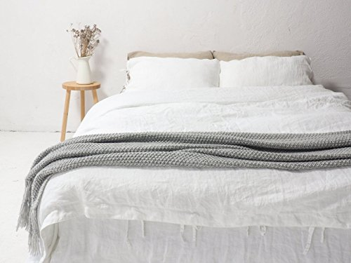 LINEN DUVET COVER | queen size, king size, custom size. Linen covers and bedding made of 100% European linen.