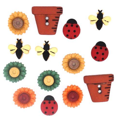 Dress Up Enveloppez-Le 1226 Bugs et Fleurs de décoration